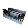 115pcs HSS drill bit set in metal box
