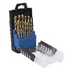 25pcs HSS Co drill bit set in plastic box