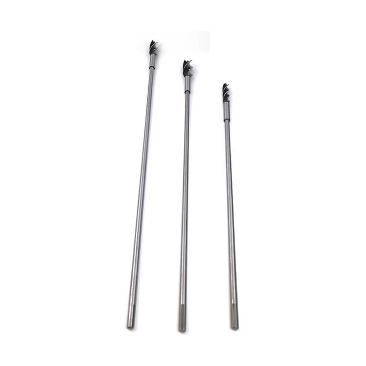 Extra Long Drill Bit Extension Rod with Thread