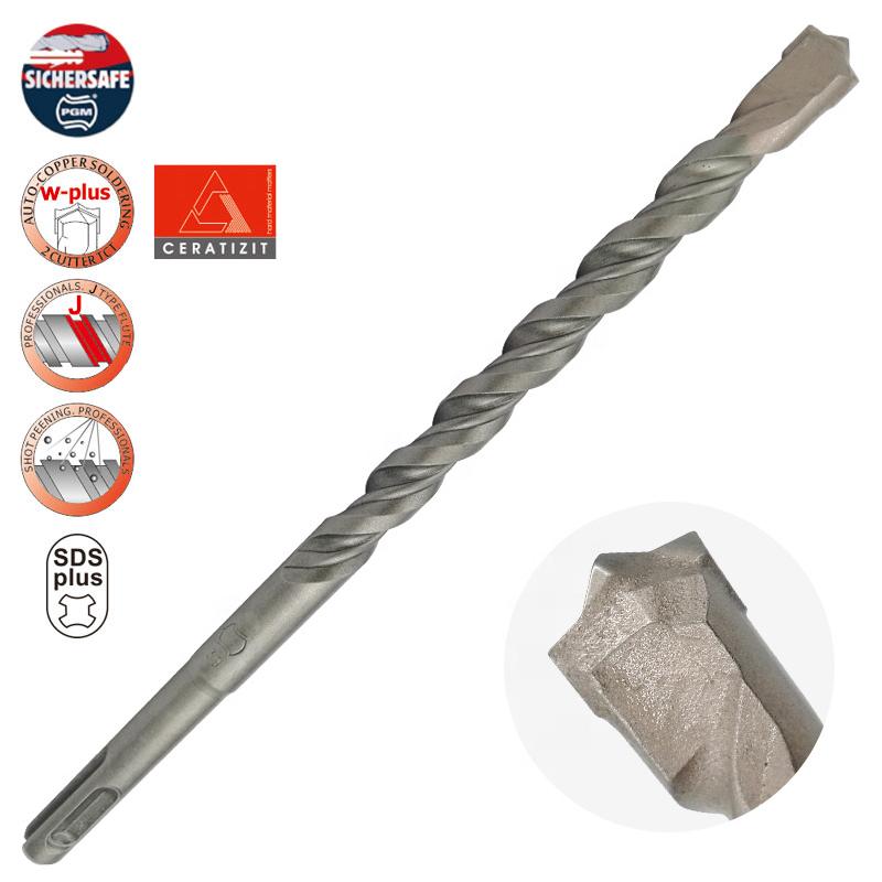 Multipurpose-SDS-plus-hammer-drill-bits