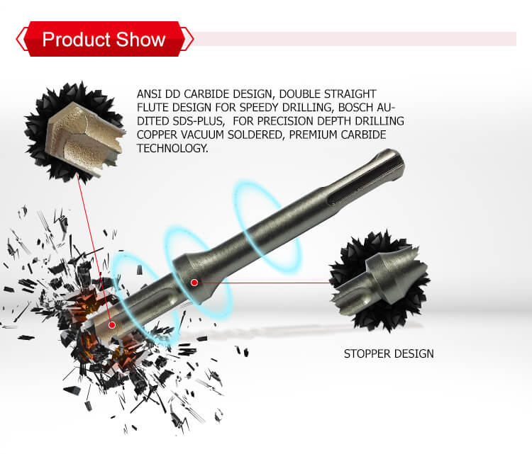 Professional Quality Quick Stop SDS plus Hammer Drill Bits