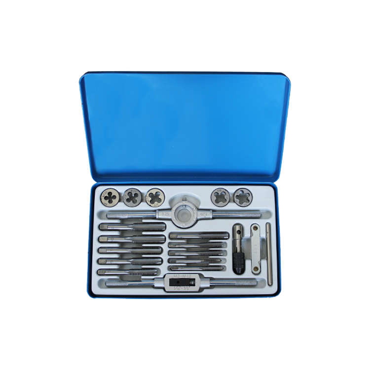 19Pcs SAE Tap and Die Sets