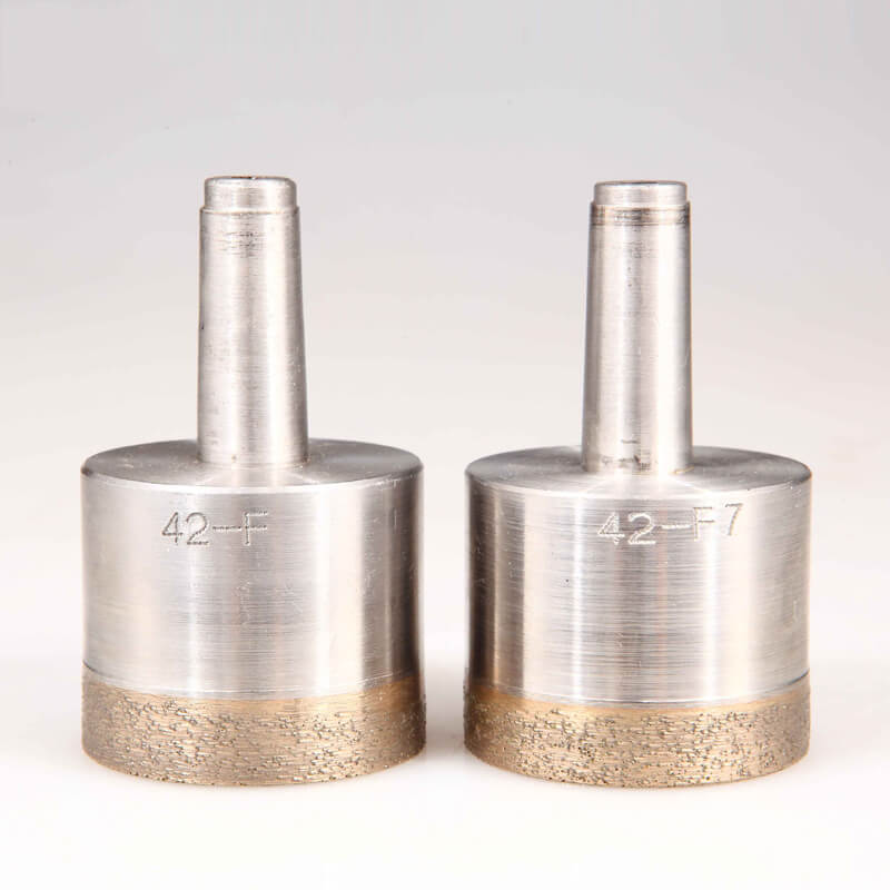 Cone Shank Sintered Diamond Hole Saws for Glass