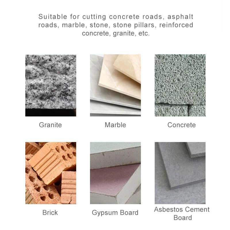 Diamond Blades Applications