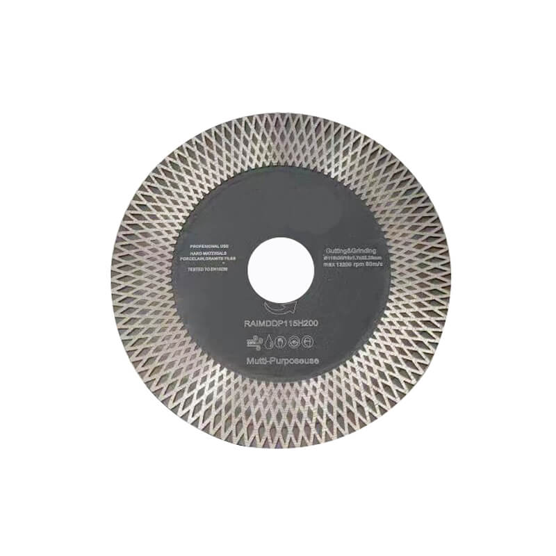 Diamond Saw Blades for both Cutting & Grinding