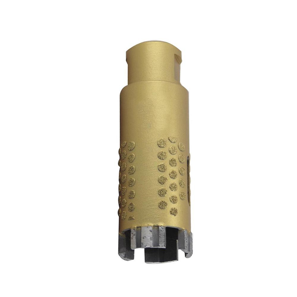 Turbo Segmented Diamond Core Drill Bits with Vacuum Brazed Body