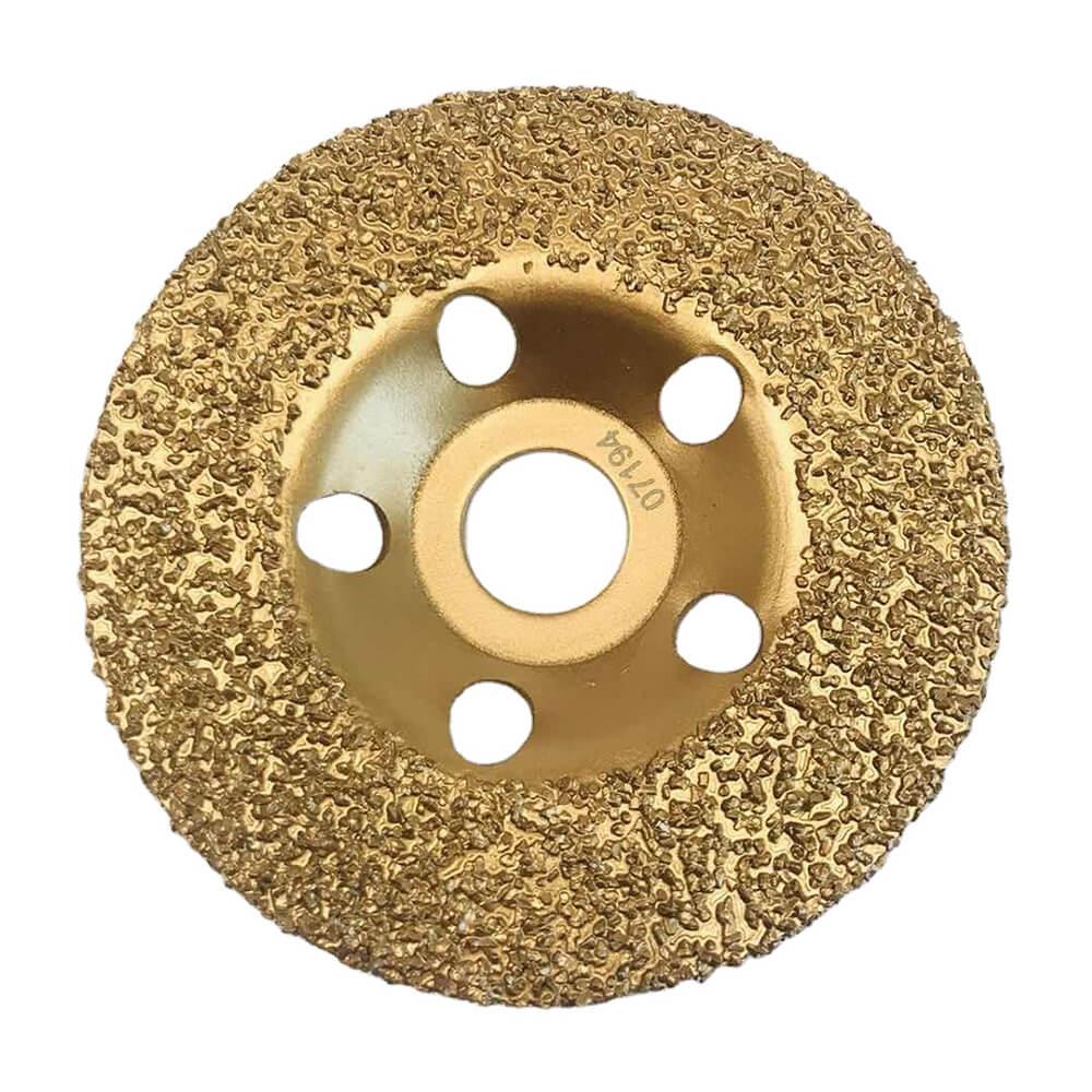 Vacuum Brazed Carbide Cup Grinding Wheels